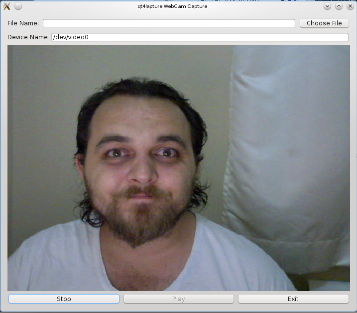 linux webcam video  capture